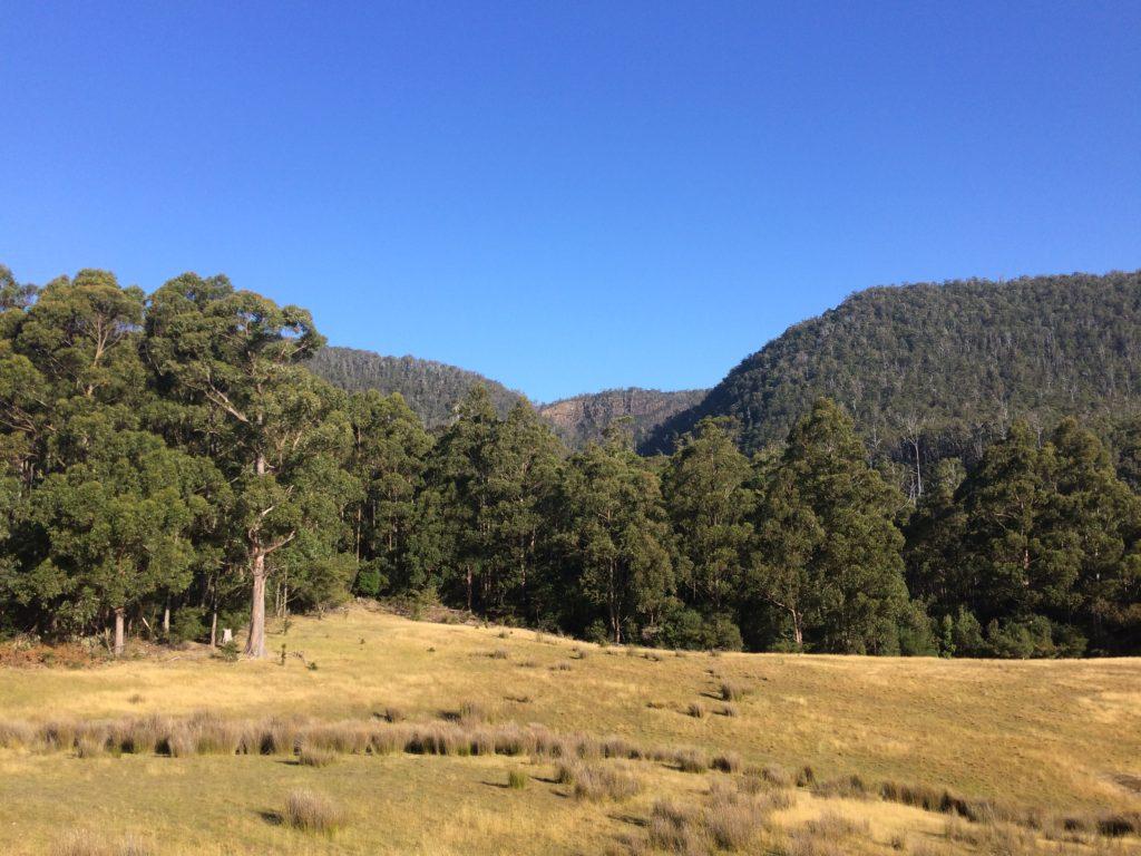 Farmland, Pelverata, Tasmania