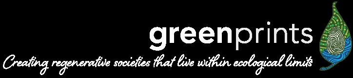 Greenprints logo and tagline