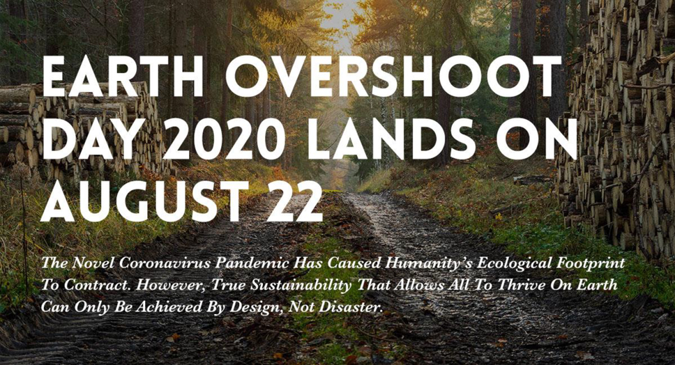 Overshoot Day banner