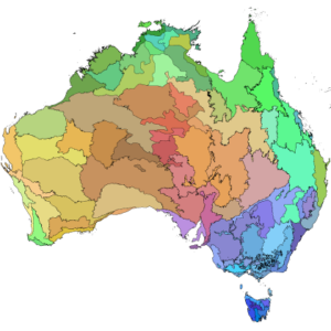 IBRA 7 - Interim Biogeographic Regionalisation for Australia